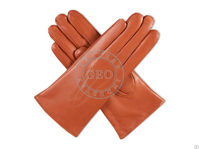 Women Fashion Leather Gloves