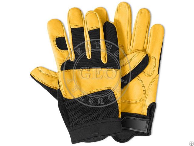 Leather Mechanics Gloves