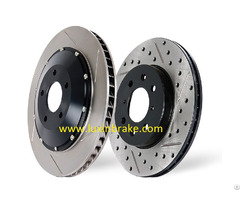 Drilled And Slotted Brake Disc Iso Ts 16949 Certified