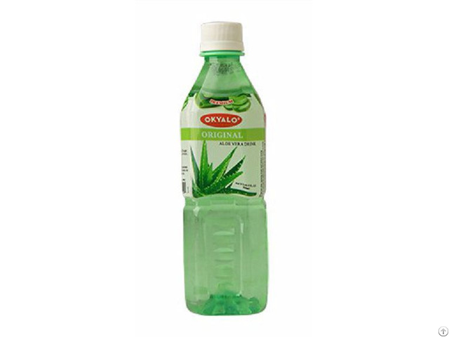 Original Aloe Vera Juice With Pulp Okeyfood In 500ml Bottle