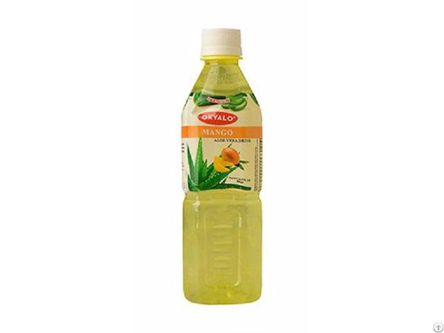 Mango Aloe Vera Juice With Pulp Okeyfood In 500ml Bottle