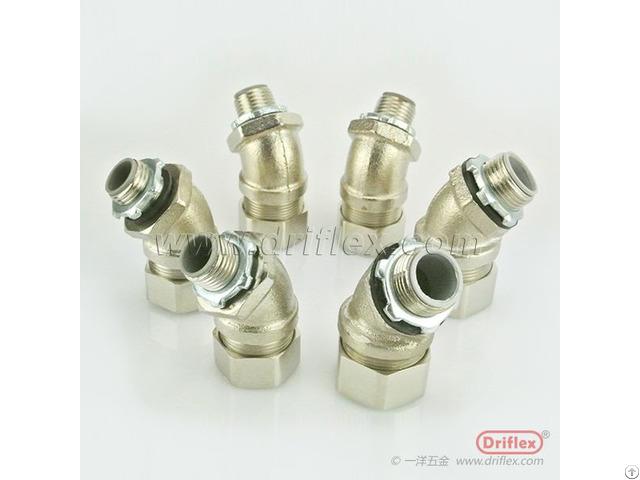 Flexible Brass Adapter Made By Driflex