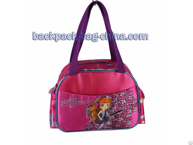 School Dark Pink Handbag