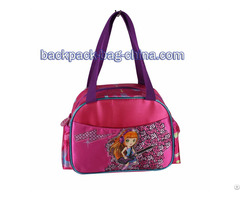 School Dark Pink Handbag
