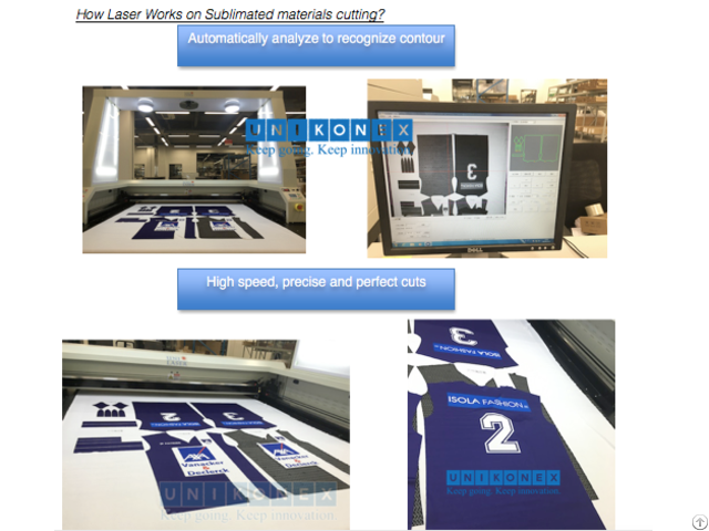 Laser Cutting Dye Sublimation Printed Fabric Textiles And The Other Material