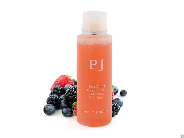 Vitalizing Shower Gel With Red Fruits