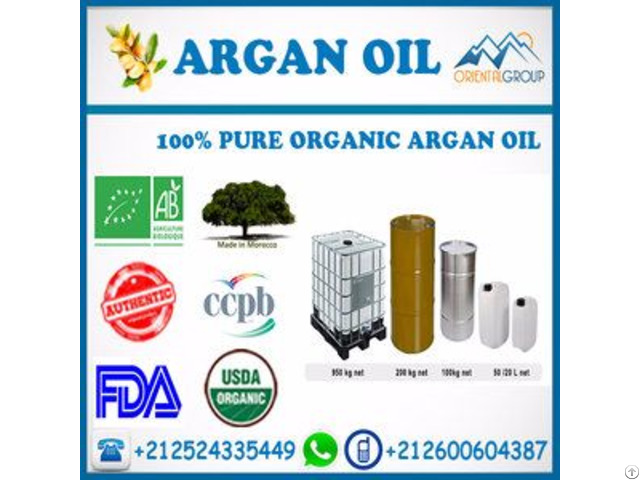 Professional Wholesale Bulk Organic Argan Oil For Hair