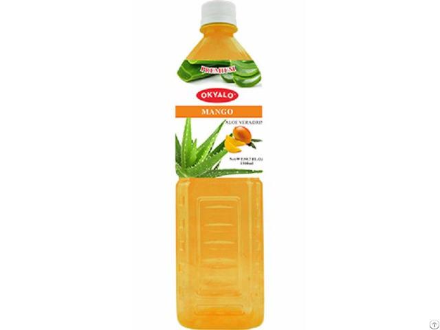 Okyalo 1 5l Raw Aloe Vera Drink With Mango Flavor Okeyfood