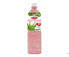 Okyalo 1 5l Raw Aloe Vera Drink With Lychee Flavor Okeyfood