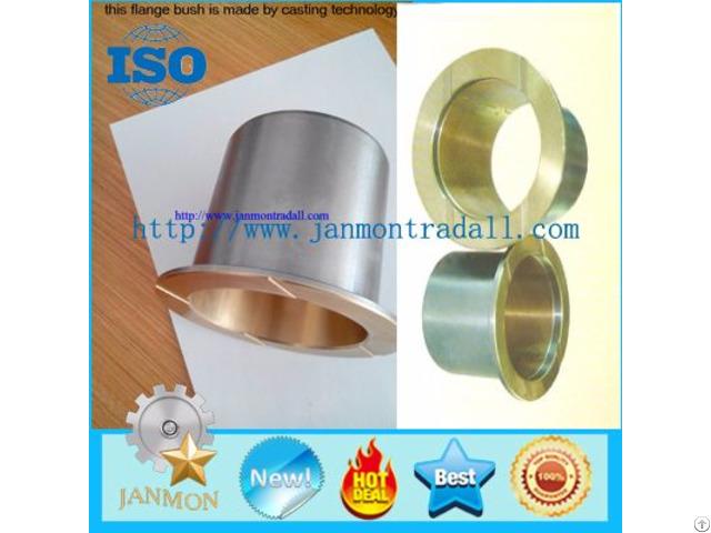 Bronze Steel Bimetal Flanged Bushing