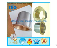 Bronze Steel Bimetal Flanged Bushing