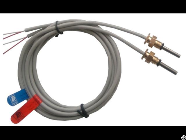 Pt100/1000 Platinum Thermal Resistance Temperature Sensor For Heat Meter