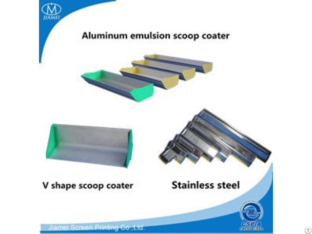 Aluminum Emulsion Scoop Coater