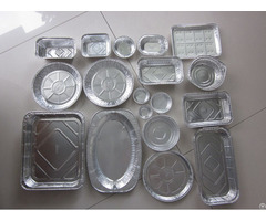 Food Grade Aluminium Foil Container Box