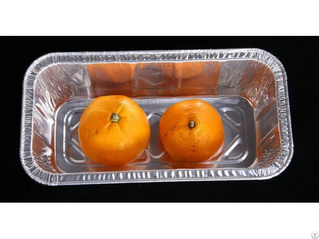 Food Packing Aluminum Foil Container Lid