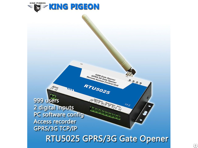 Gsm 3g Gate Opener Access Control