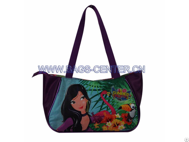 Long Handle Twill Handbag