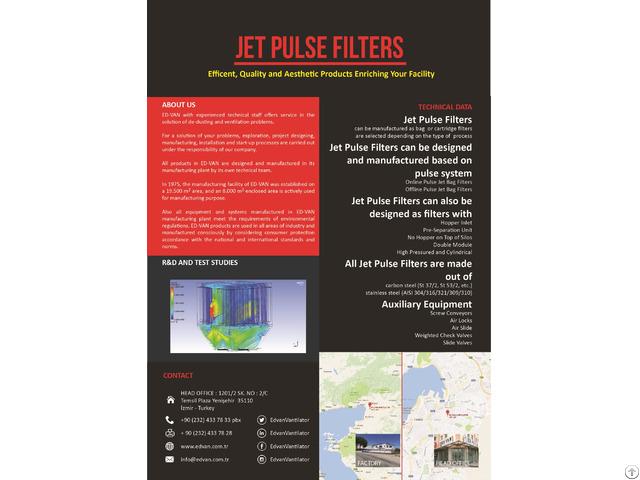 Jet Pulse Filters