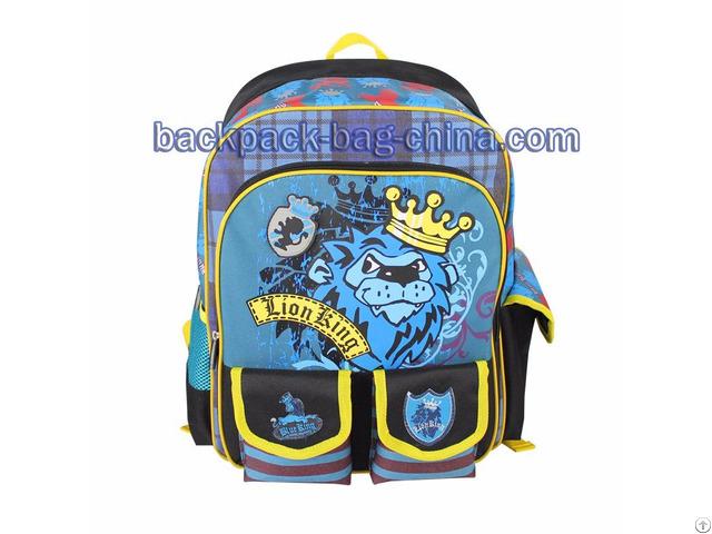 Blue School Backpacks