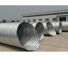 Spiral Corrugated Metal Pipe