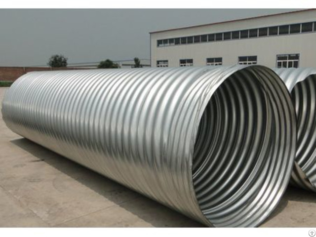 Steel Corrugated Pipe Culvert