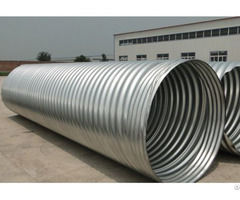 Steel Corrugated Pipe Culvert