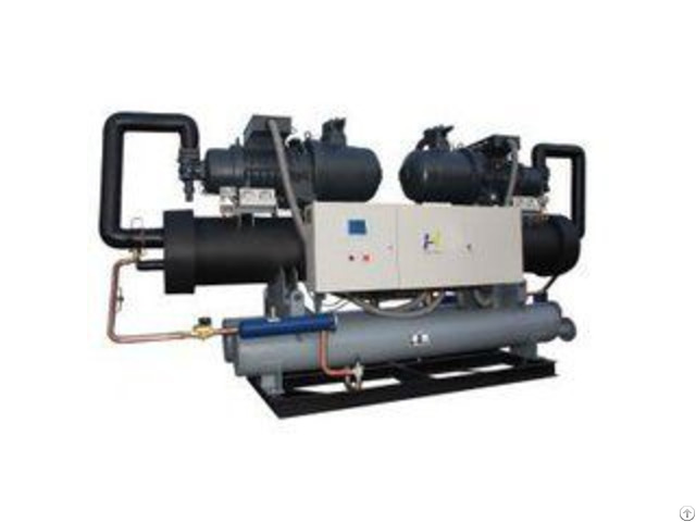Industrial Air Cooled Screw Compressor Chiller