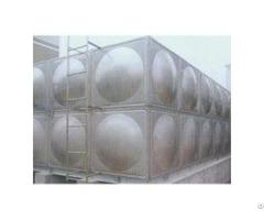 New Stainless Steel Storage Tank