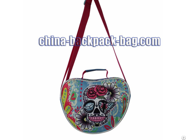 Twill Fabric Shoulder Bag