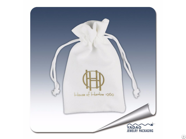 Customized Velvet Pouch Jewelry Package Bag