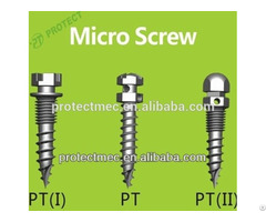 Protect Orthodontic Micro Implant Mini Screws With High Quality Titanium Dental Implants