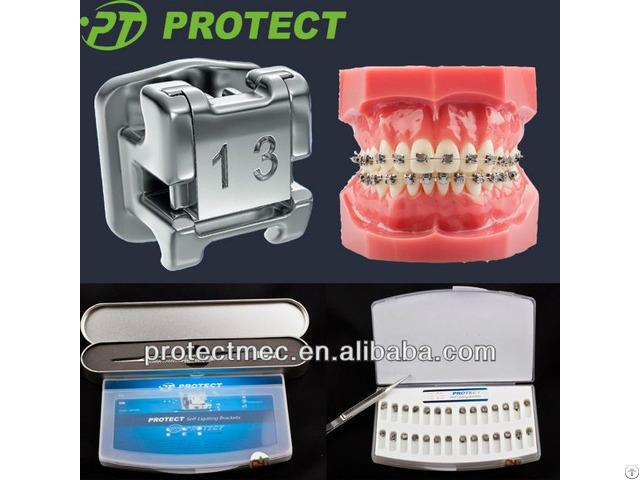 Ce Approved Dental Braces Orthodontic Self Ligating Brackets