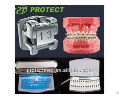 Ce Approved Dental Braces Orthodontic Self Ligating Brackets