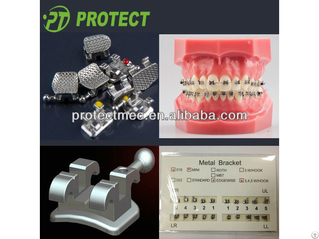 Protect Dental Odontologia Materials Bracket Standard Roth Mini Ortho For Tooth