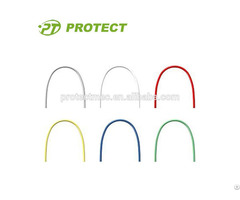 Dental Accessory Orthodontic Wires Tooth Color Made Of Niti