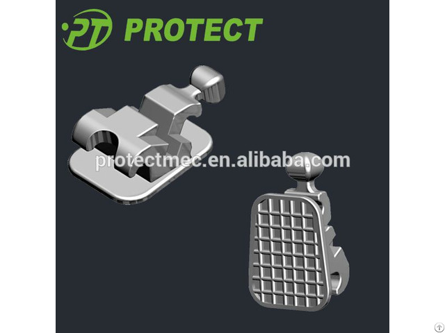 Orthodontic 2d Self Ligating Lingual Bracket