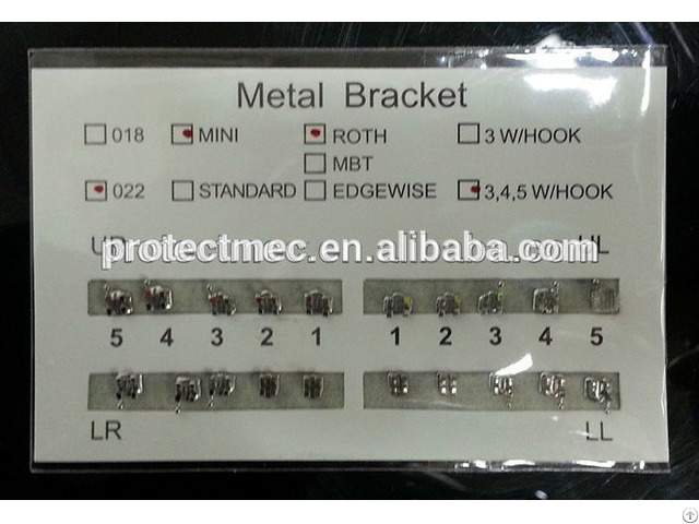 Brackets Dental Ortodoncia With Competitive Price