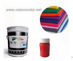 Production Of Aqueous Pigment Paste