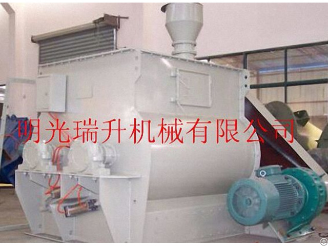 Double Shafts Paddle Mixer Non Gravity Blender Weightless Mixing Machine
