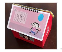 Desk Calendar With Foldable Holder