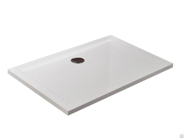 Smc Rectangle 80 120 4cm Shower Tray
