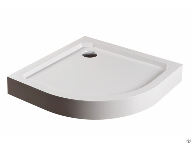 High Edge Sector Smc Shower Tray
