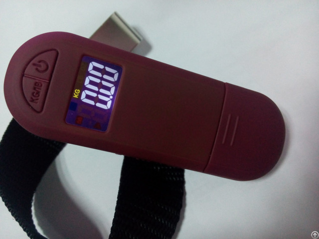 Portable Colorful Digital Luggage Scale Ns 27