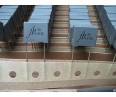 Jfd Box Type Met Polyester Film Capacitor