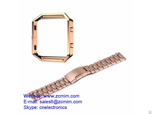 Stainless Steel Watch Band Wrist Strap Bracelet Metal Frame Machining