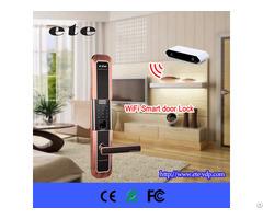 New Zinc Alloy Digital Mobile Smart Home Wifi Electronic Door Lock