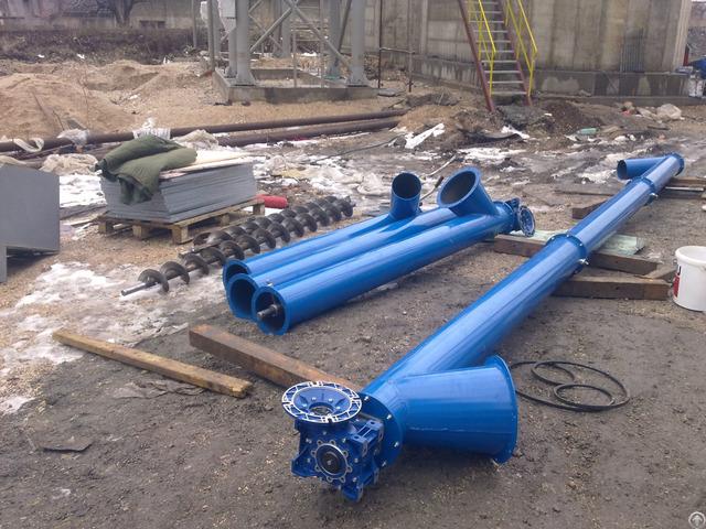 Screw Conveyor For Grain Powder Sawdust Etc