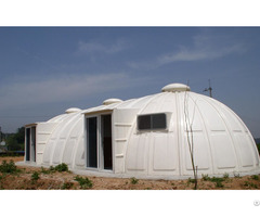 One Day Steup Frp Prefabricated Building Geodome