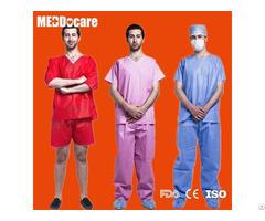 Disposable Hospital Dental Clinic Nursing Scrub Suits For Nurses Women