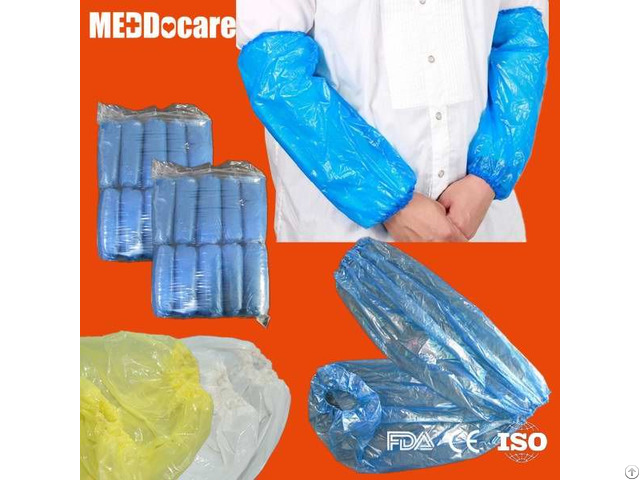 Dailyuse Pp Sms Homeuse Clean Sleeve Cover Disposable Pe Cpe Waterproof Arm Sleeves